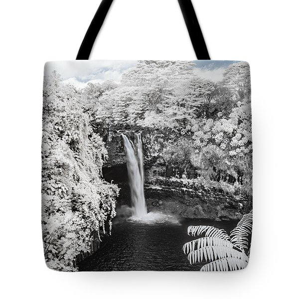 Rainbow Falls In Infrared 1 Tote Bag