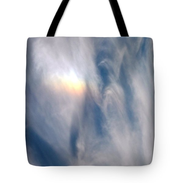 Rainbow Blessings Tote Bag