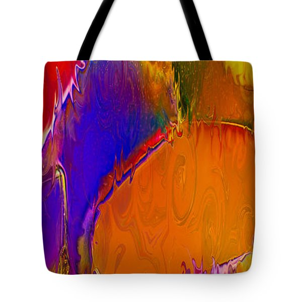 Rainbow In A Bottle Tote Bag by Omaste Witkowski