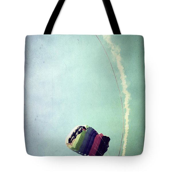 Rainbow In Motion Tote Bag