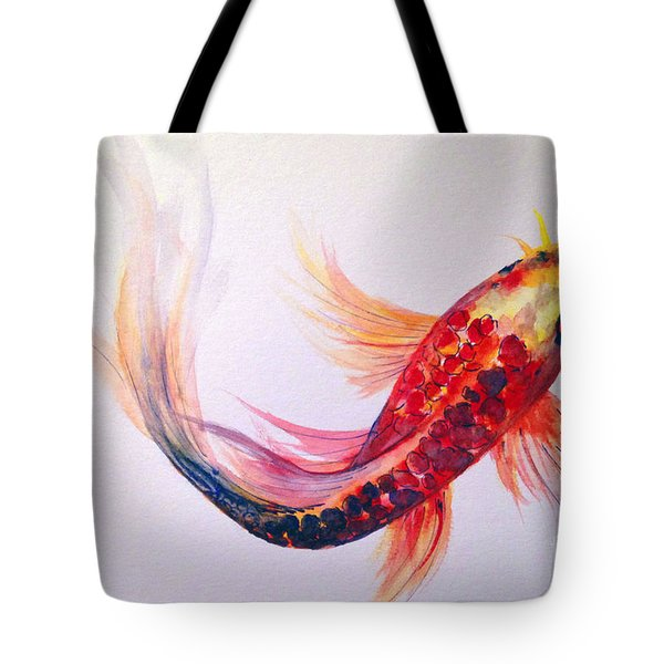 Rainbow Koi Tote Bag