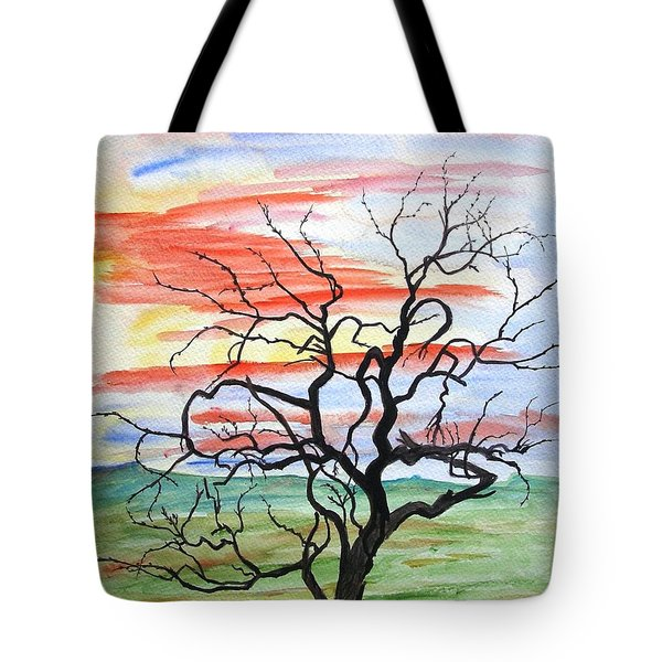 Rainbow Mesquite Tote Bag
