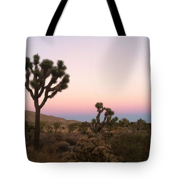 Tote Bag featuring the photograph Rainbow Morning by Angela J Wright