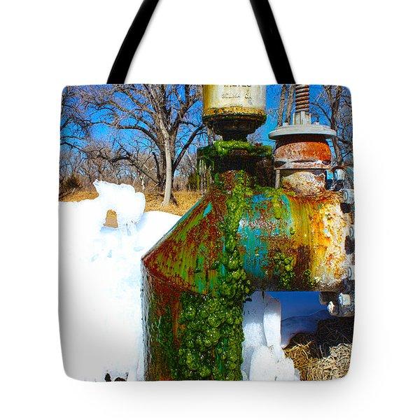 Rainbow Pipe Tote Bag