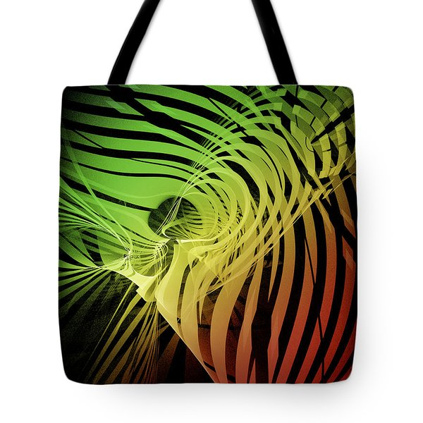 Rainbow Ribs Tote Bag