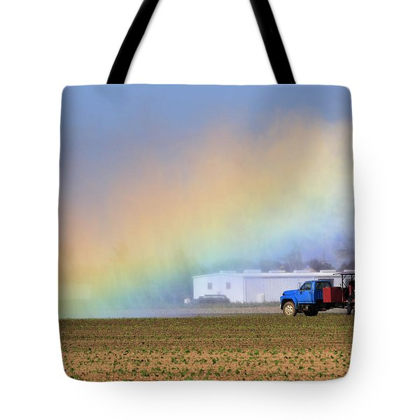 Rainbow Tote Bag by Rudy Umans