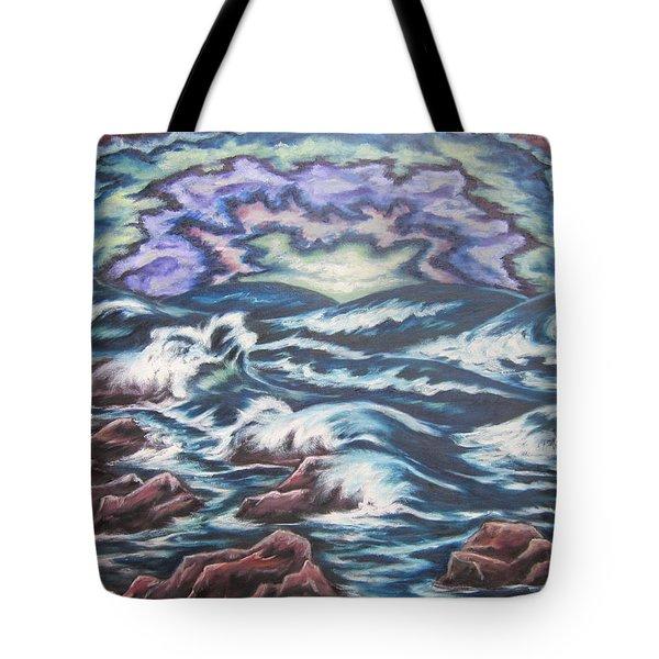 Rainbow Skies 2 Tote Bag by Cheryl Pettigrew