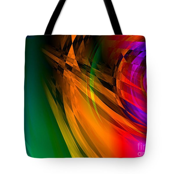 Rainbow Thoughts Tote Bag