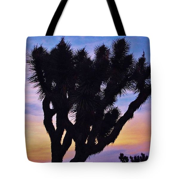 Tote Bag featuring the photograph Rainbow Yucca by Angela J Wright