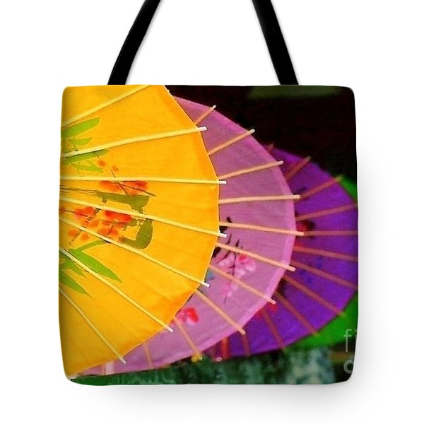 Tote Bag featuring the photograph New Orleans Rainbowellas by Michael Hoard