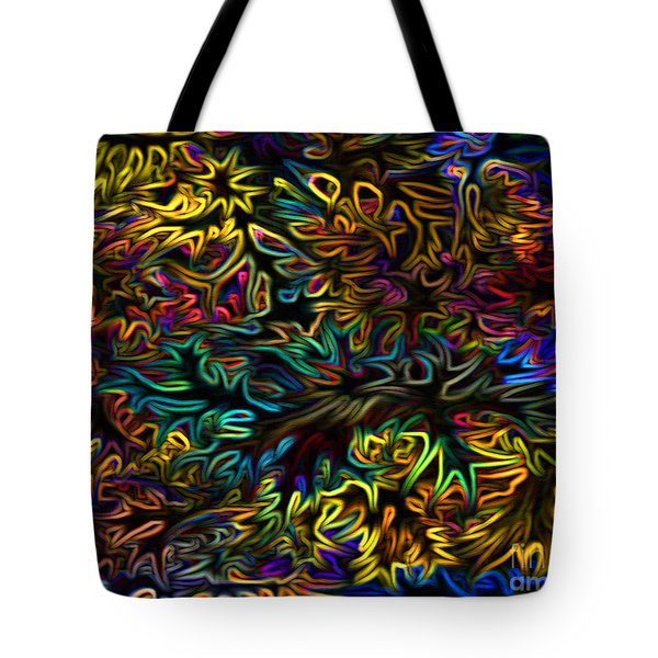 Rainbows In The Forest Tote Bag