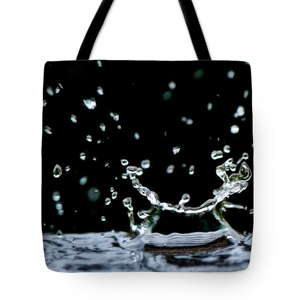 Raindrop Tote Bag by Lisa Knechtel