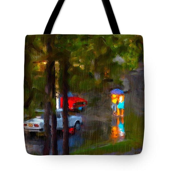 Tote Bag featuring the photograph Raindrops At Cuba by Juan Carlos Ferro Duque
