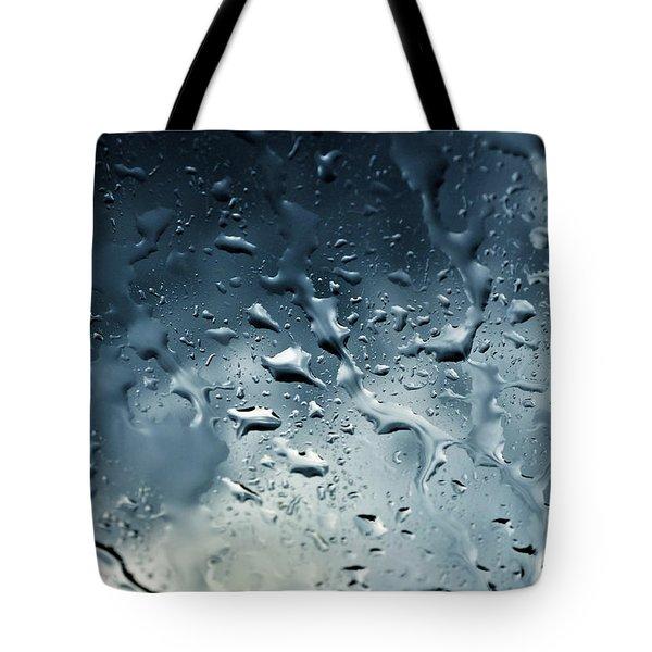 Raindrops Tote Bag by Fabrizio Troiani
