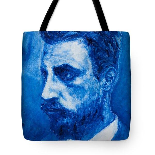 Rainer Maria Rilke Tote Bag by Sviatoslav Alexakhin