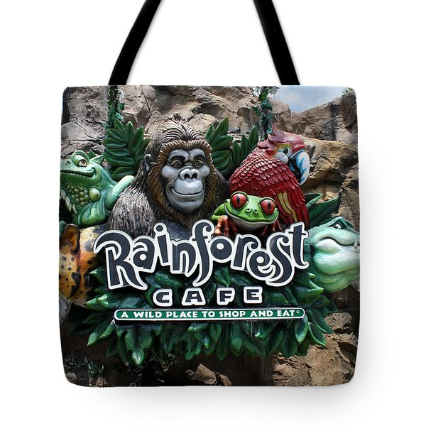 Rainforest Tote Bag