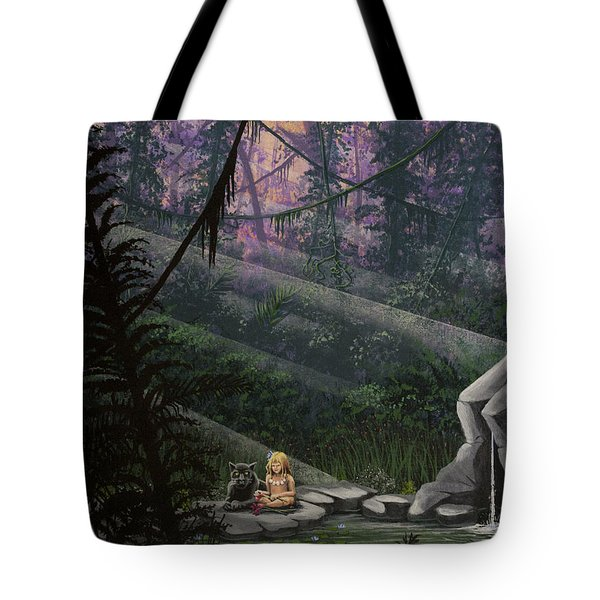 Rainforest Mysteries Tote Bag