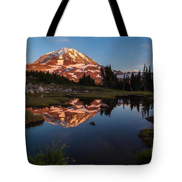 Rainier Last Light Tote Bag