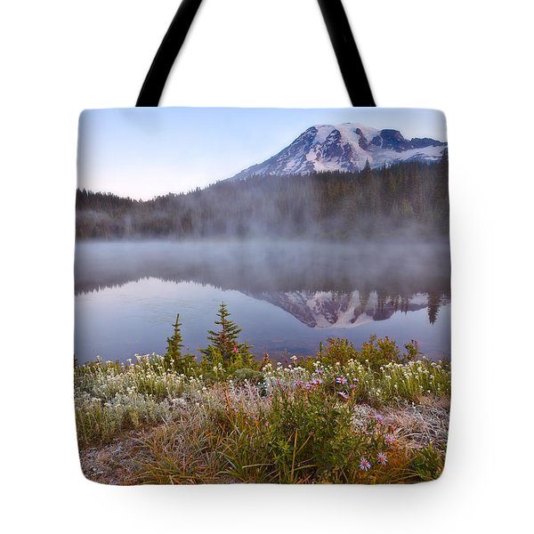 Rainier Morning Tote Bag