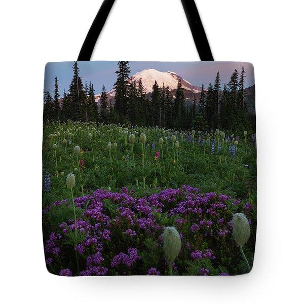 Rainier Pastel Dawn Tote Bag