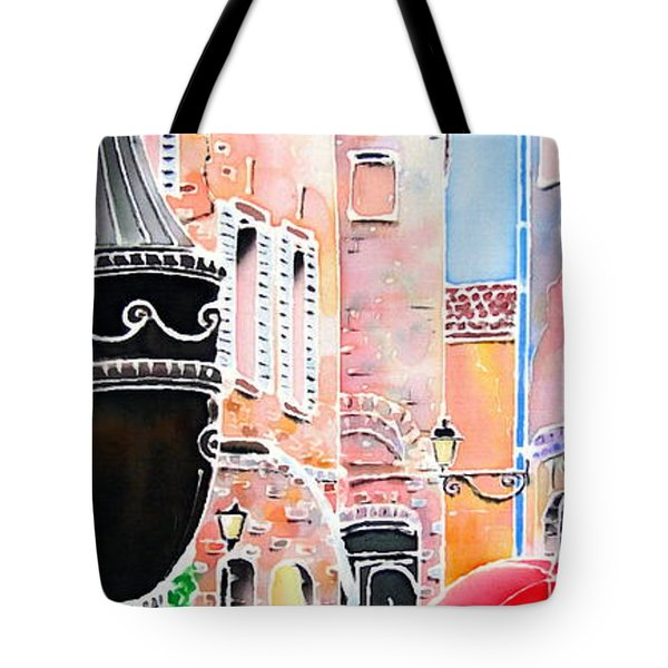 Raining In St-paul De Vence Tote Bag