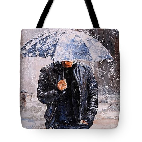 Rainy Day #23 Tote Bag by Emerico Imre Toth