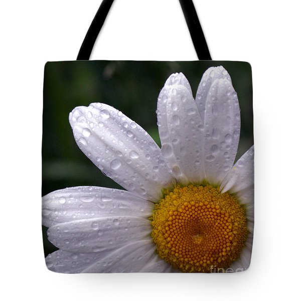 Rainy Day Daisy Tote Bag