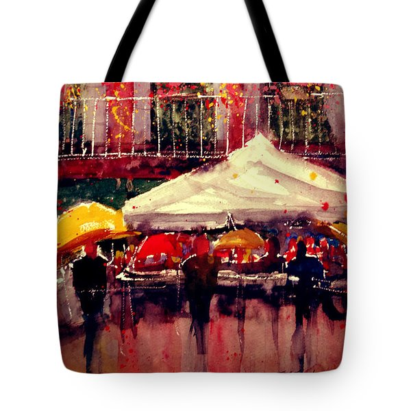 Rainy Day In Fivizzano Tote Bag