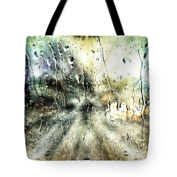 Rainy Night Tote Bag