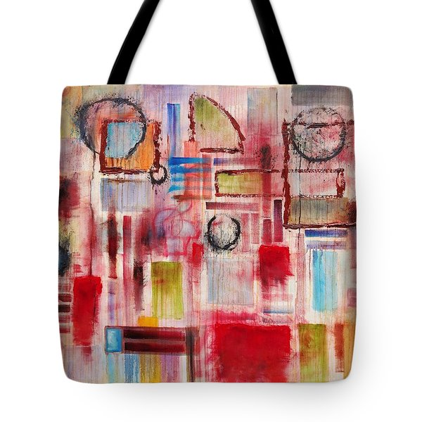 Rainy Panes Tote Bag