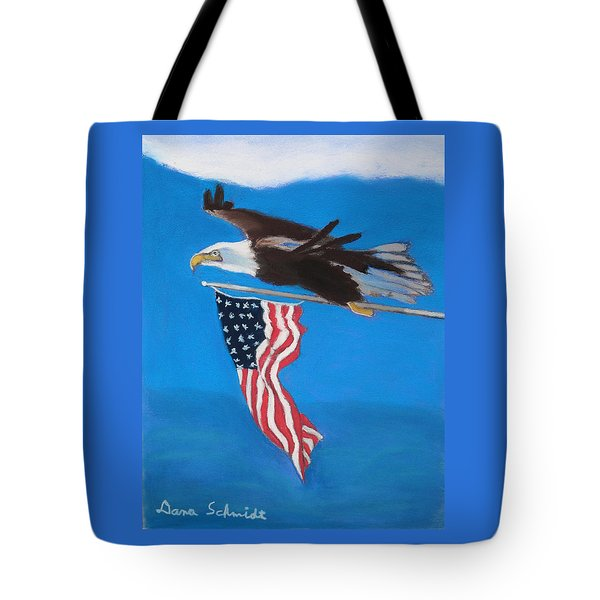 Raise The Flag Up High Tote Bag