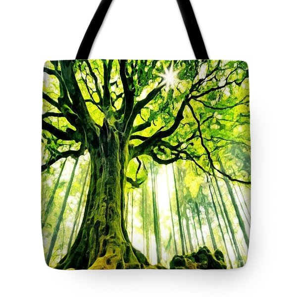 Raised By The Light Tote Bag