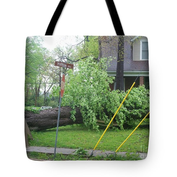Tote Bag featuring the photograph Raised Sidewalks by Kelly Awad