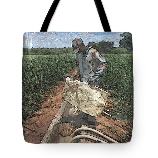 Tote Bag featuring the photograph Raising Cane by Al Harden