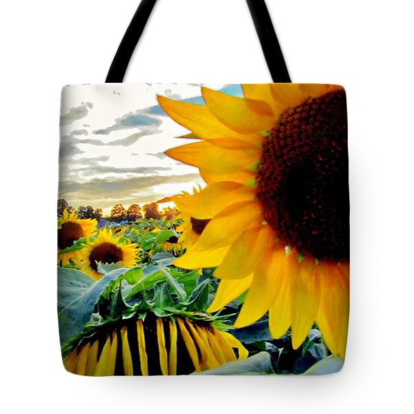 Raisingluminescence Raising Above The Crowd  Tote Bag