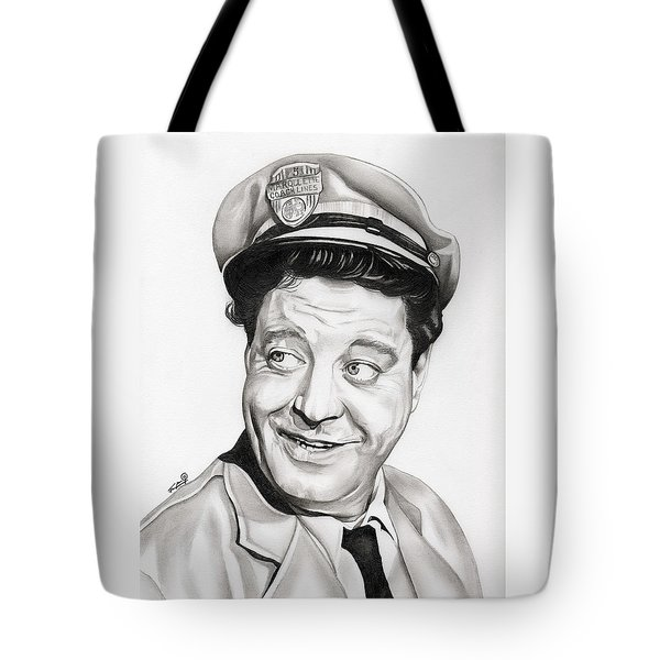 Ralph Kramden Tote Bag by Fred Larucci