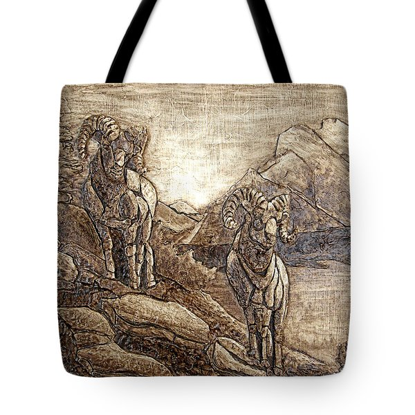 Rams Relief Tote Bag