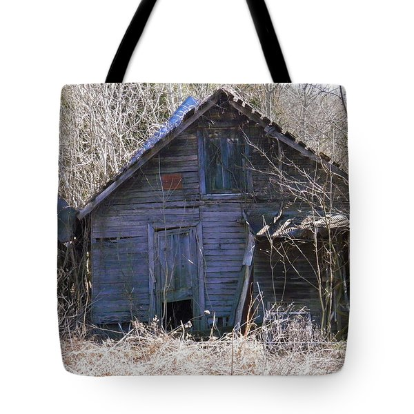 Tote Bag featuring the photograph Ramshackled by Nick Kirby