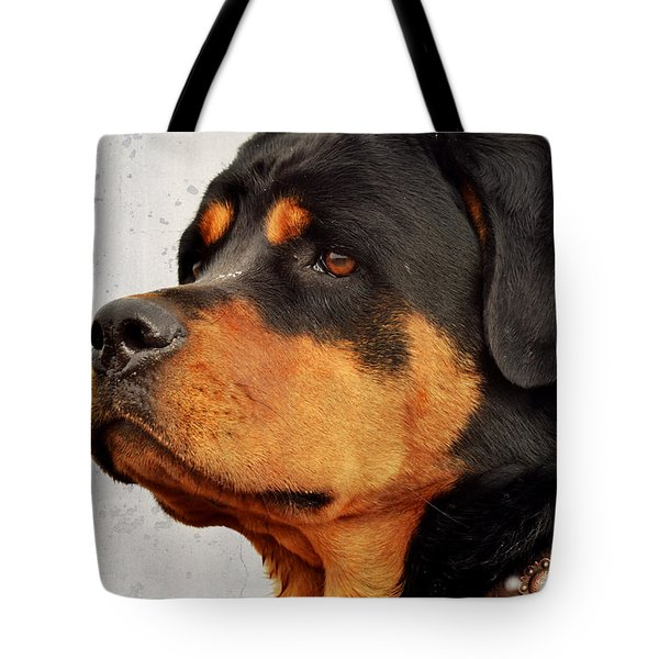 Ranch Dog On Watch Tote Bag