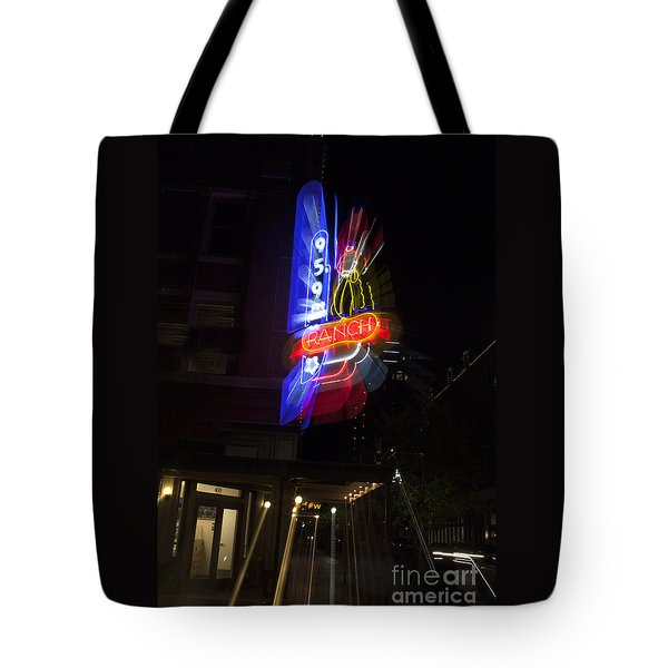 Ranch Radio Tote Bag
