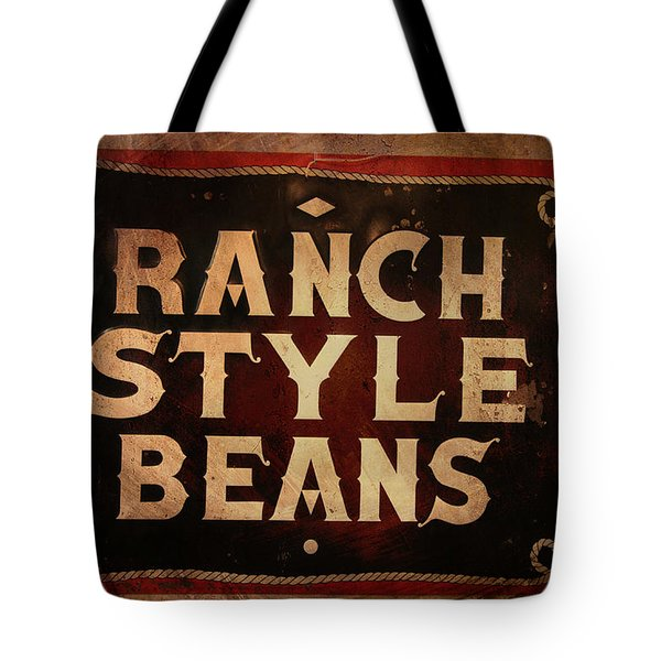 Ranch Style Beans Tote Bag by Toni Hopper