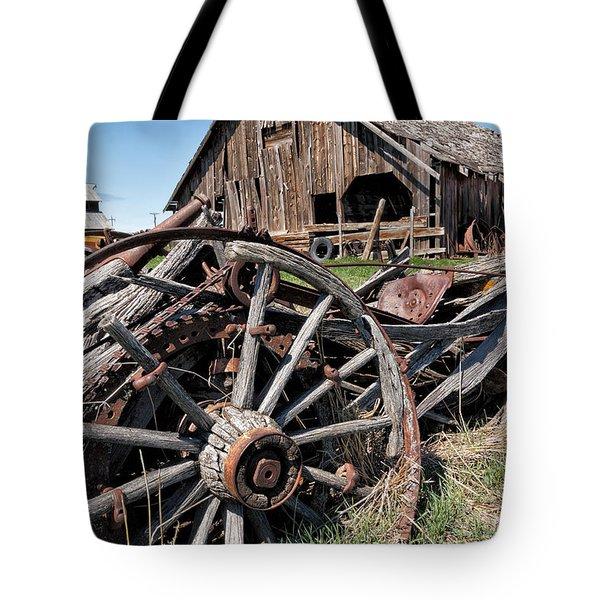 Ranch Wagon Tote Bag