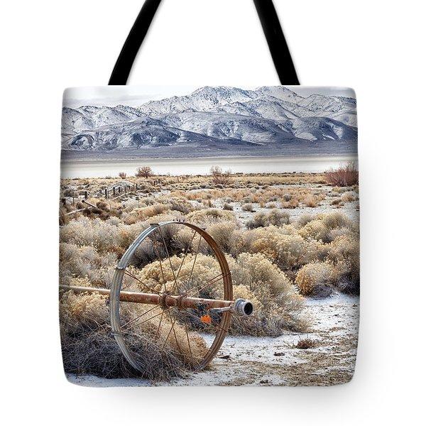 Ranching The Black Rock Tote Bag