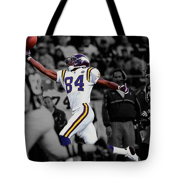 Randy Moss Tote Bag