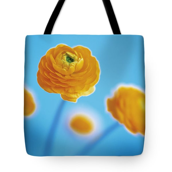 Tote Bag featuring the photograph Ranunculus by Lana Enderle