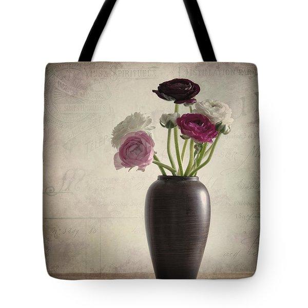 Ranunkel Vintage Tote Bag
