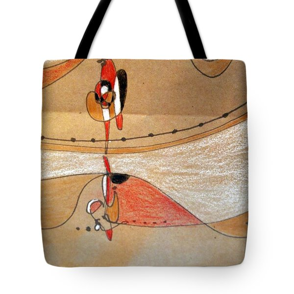 Rappeling Tote Bag by Nancy Kane Chapman