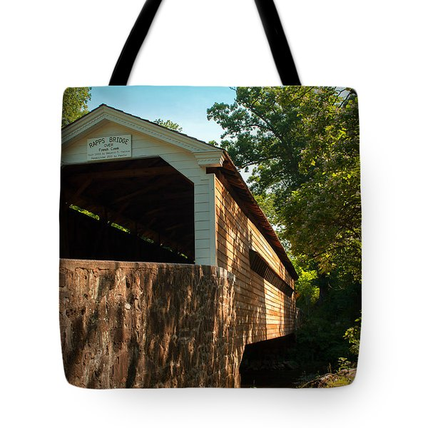 Rapps Covered Bridge Tote Bag