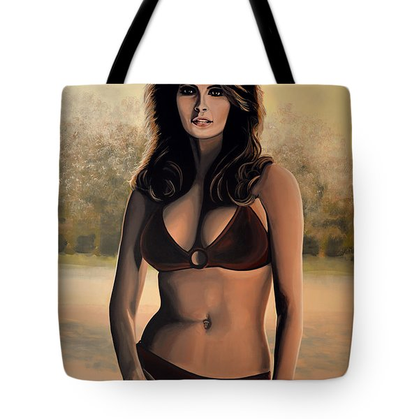 Raquel Welch 2 Tote Bag