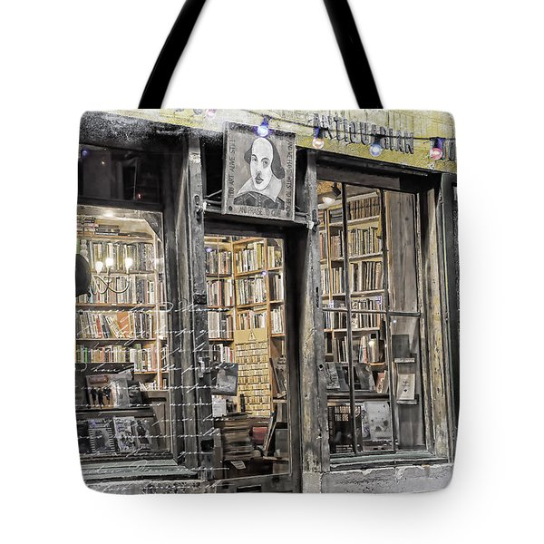 Rare Books Latin Quarter Paris France Tote Bag